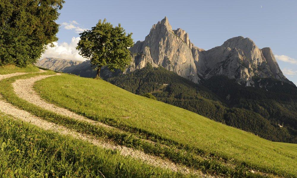 Il sentiero della pace a Castelrotto